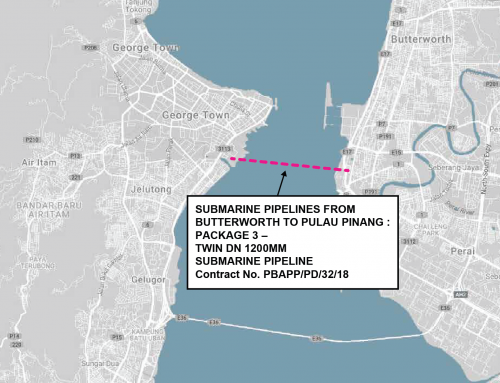Submarine Pipelines From Butterworth To Pulau Pinang